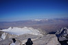 """Mt. Whitney summit view. <br /> <br /> """"East."""""""