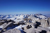 "Mt. Whitney summit view. <br /> <br /> ""North."""
