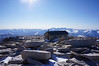 """Mt. Whitney summit view. <br /> <br /> """"West."""""""