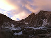 iPhone photo. <br /> <br /> Arc Pass, McAdie and Marsh at dawn.