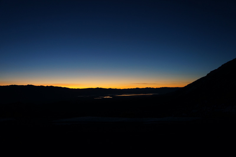 Sunrise from Whitney Portal Road.