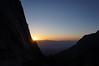 Sunrise over the Inyos.
