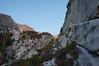 Alpinglow on the Sierra crest.