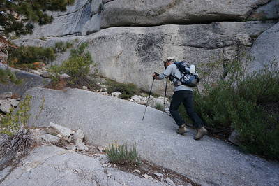 Mt. Whitney Mountaineer's Route - August 3, 2012