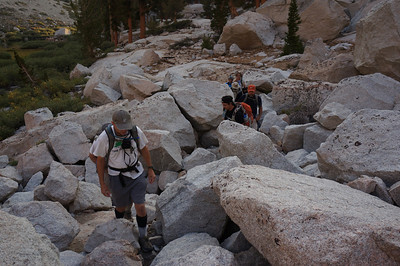 Mt. Whitney Mountaineer's Route - August 11, 2012