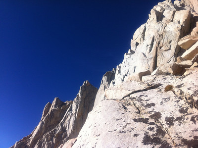 Mt. Whitney Mountaineer's Route - September 14, 20112