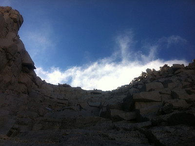 Mt. Whitney Mountaineer's Route - September 28, 2012