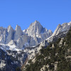 Mt. Whitney.<br /> <br /> The North Fork of Lone Pine creek looks fairly dry.