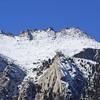 Thor Peak summit slope.