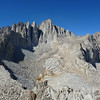 Thor Peak summit view.<br /> <br /> Mt. Whitney.