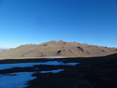 Piute Mountain / Sheep Mountain / Mt. Barcroft / White Mountain Peak - October 29, 2011