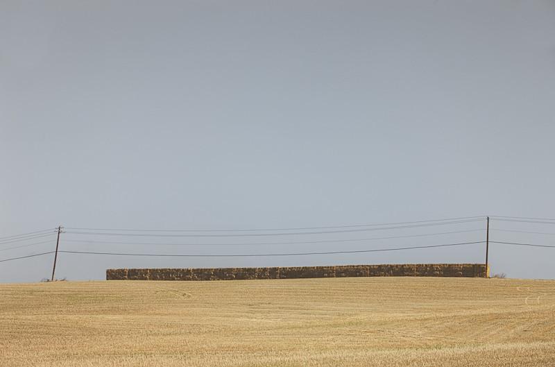 Golden Hay Pile