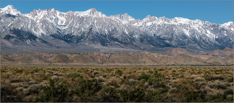 Sierra Nevada/Alabama Hills including Lone Pine Peak and Mt Whitney 2019