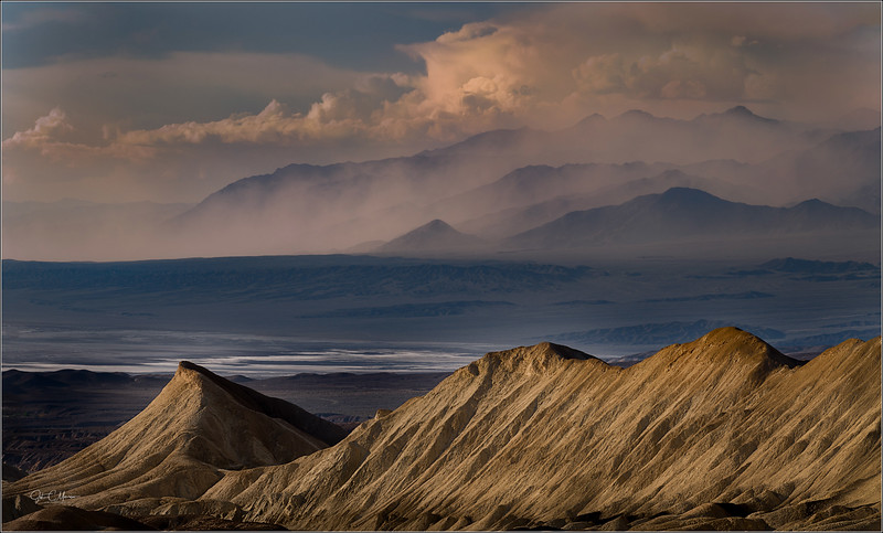 Sand Storm, Death Valley 2019