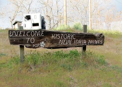 New Idria  Mine - Mining Ghost Town