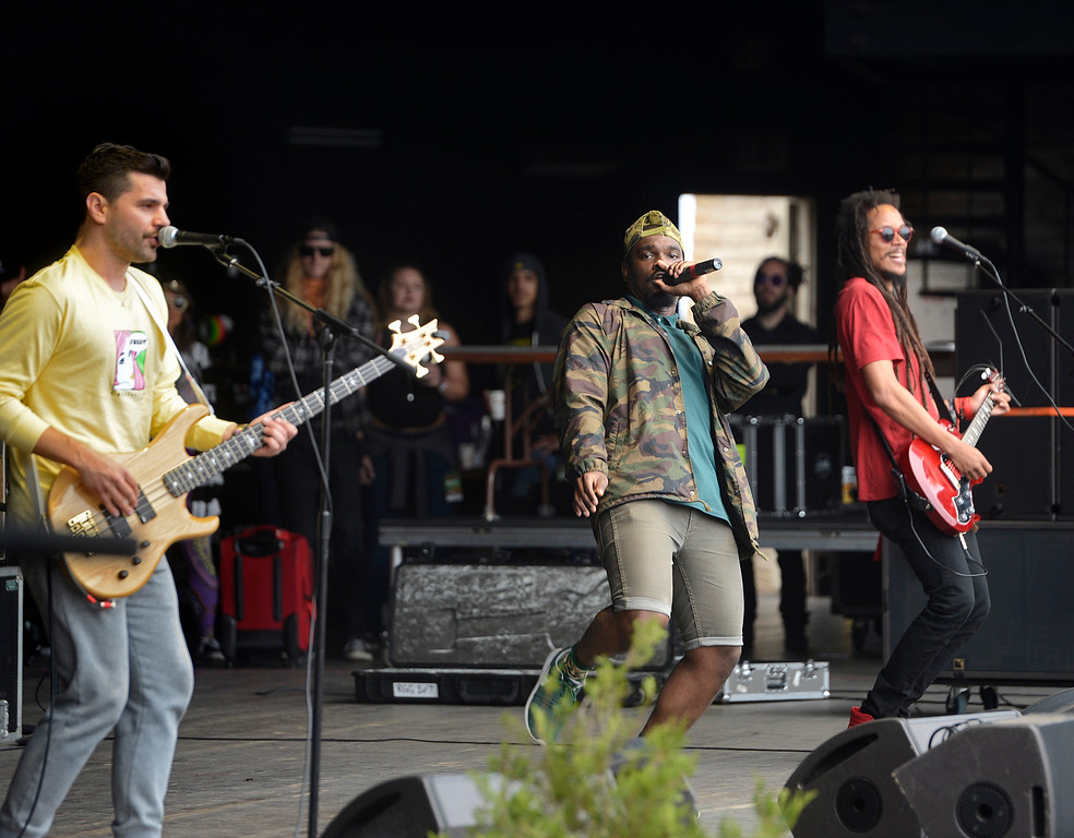 . RDGLDGRN perform at the California Roots Music and Art Festival at the Monterey County Fair and Events Center on Sunday May 28, 2017.  (David Royal - Monterey Herald)