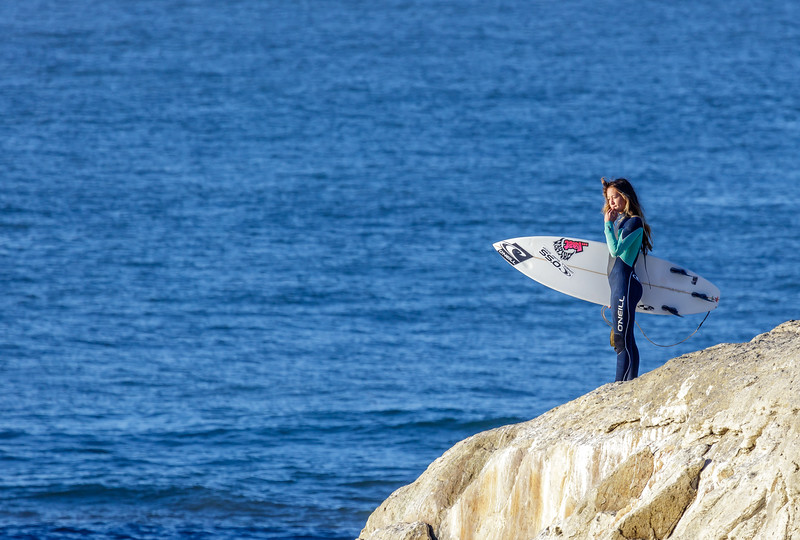 Santa Cruz Surfer Girl