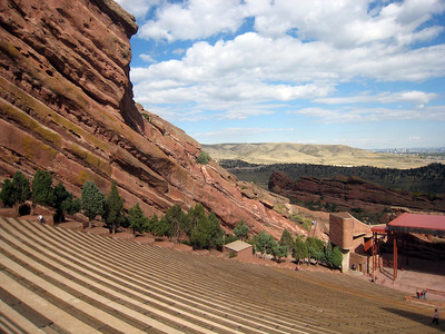 Denver, Colorado  October 2008 - Red Rocks Amphitheater