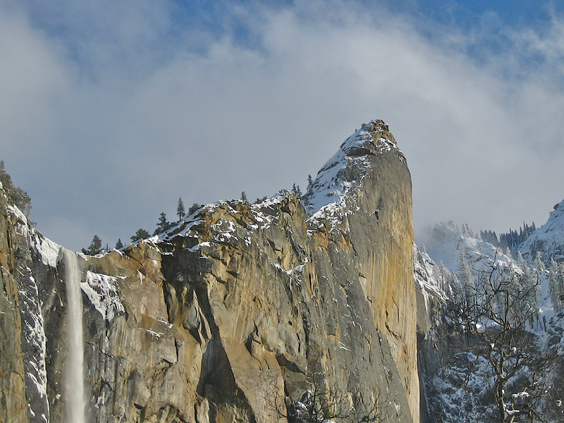 Bridalveil Falls Yosemite. I started out with a point and shoot SD400 two years ago. Just got a 40D last week.
