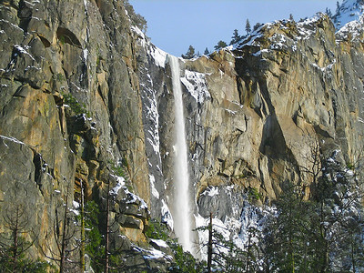Bridalvail Falls Yosemite