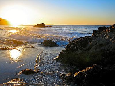 Sunrise California Leo Carrillo State Park