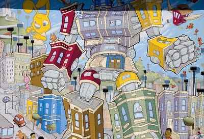 Murals and Graffiti
