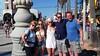Cheri, Carly, Megan, Alex, and me, Venice Beach
