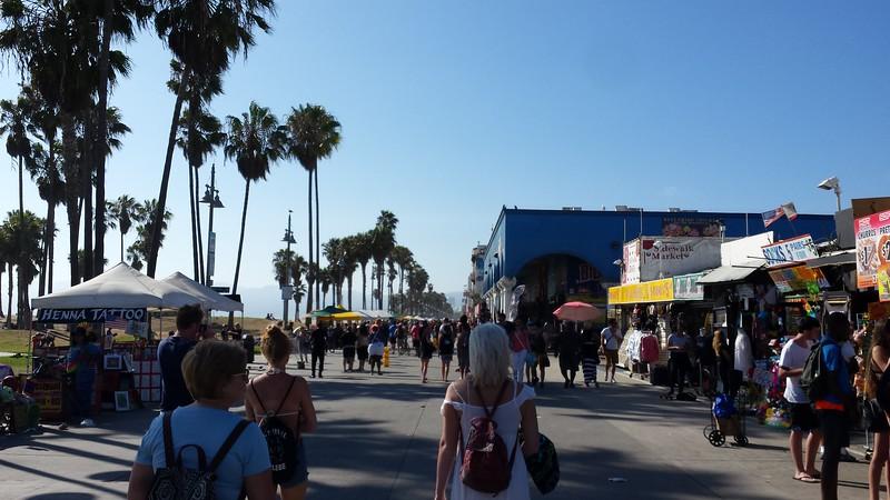 Cheri, Alex, Carly, and Megan at Venice Beach