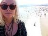 Megan at Santa Monica Pier