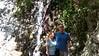 Cheri and me at waterfall, Monrovia Canyon