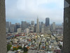 San Francisco from the top of Coit Tower.