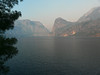 View across Hetch Hetchy Reservoir.