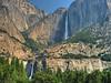 Upper and Lower Yosemite Falls.