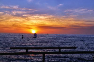 Redondo Pier at Sunset 2