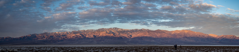 Dawn on the Panamints, Death Valley