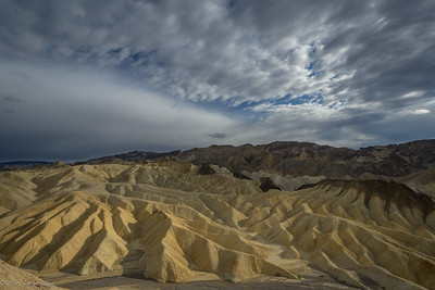 Badlands above Zabriskie, Death Valley