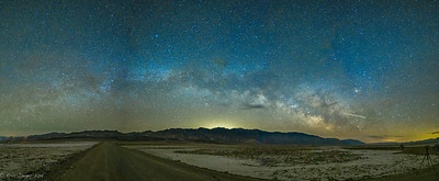 Milky Way Rising over Badwater, Death Valley