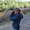 Sophie the photographer by Kirk