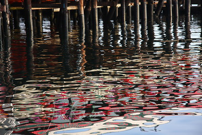 Monterey Bay Reflections at Sunrise