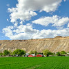 Farmland near Grand Junction, Colorado.