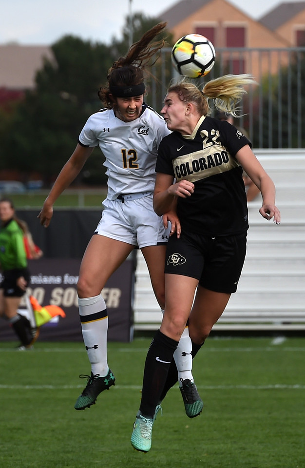 California at Colorado NCAA Soccer