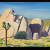 "Joshua Tree, 2009, 10x12"", oil on panel"