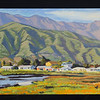 "Carpinteria, 2004, 12x30"", oil on panel"