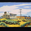 "Bodega Bay, 2002, 12x24"", oil on canvas"