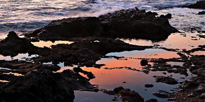 Tidepool Sunset, Abalone Cove Preserve