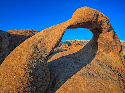 Sunrise on the Mobius Arch