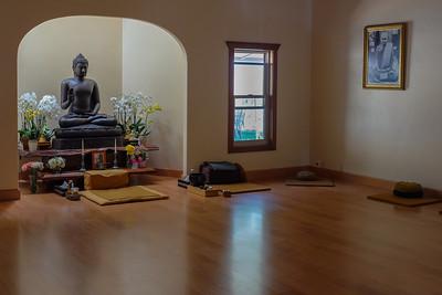 Redwood Valley: Abhayagiri Monastery