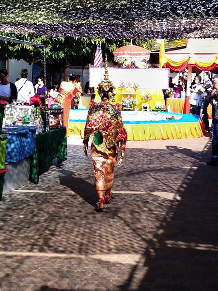 """Thai """"angel"""" costume"""