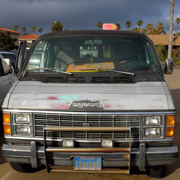 Classic Dodge van