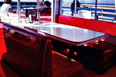 Reserved Seating @ Ruby's Diner  Balboa Island CA